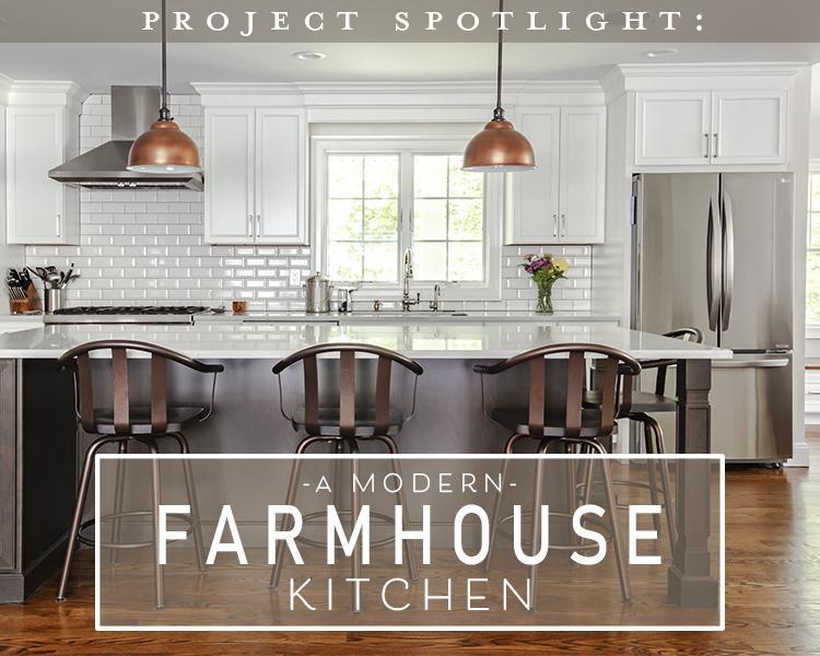 Project Spotlight: Modern Farmhouse Kitchen