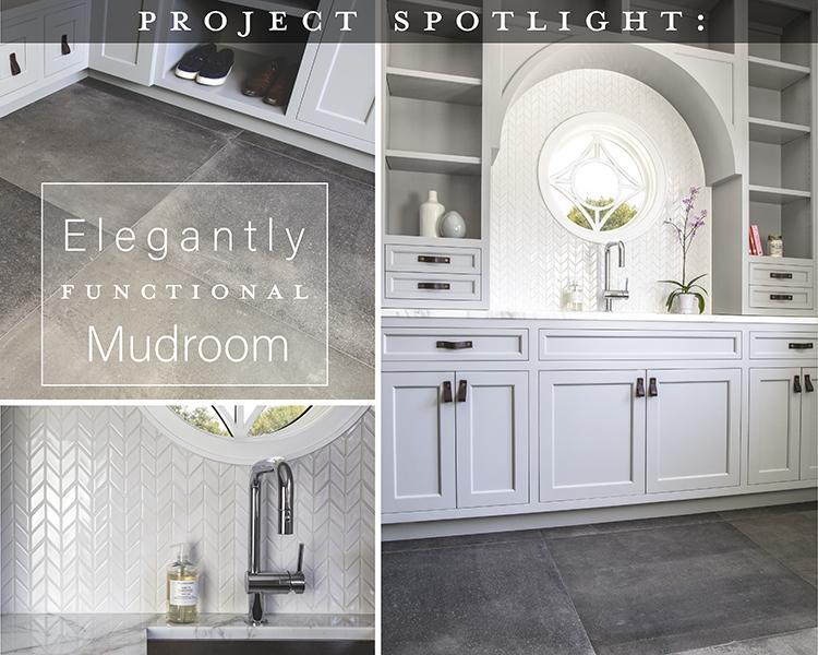 Project Spotlight: Elegantly Functional Mudroom
