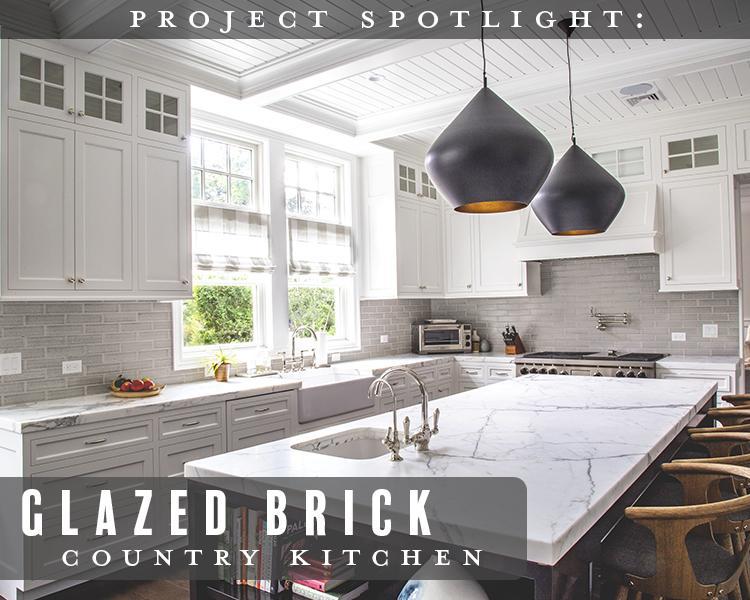 Project Spotlight: Glazed Brick Country Kitchen