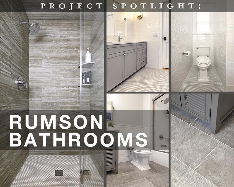 Project Spotlight: Rumson Bathrooms