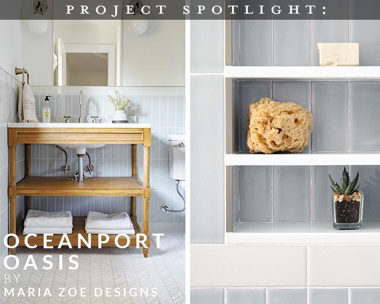 Project Spotlight: Oceanport, NJ Oasis by Maria Zoe Designs