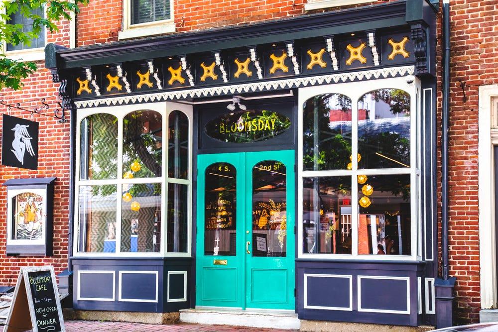 Bloomsday Cafe Philadelphia
