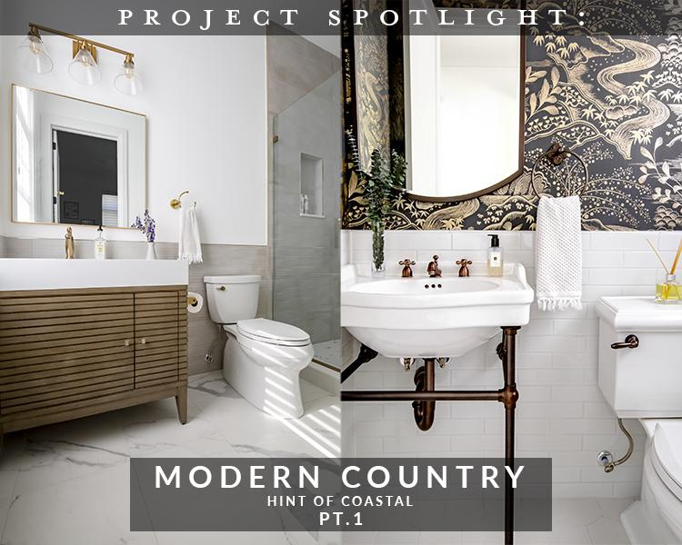 Project Spotlight: Modern Country, Hint of Coastal