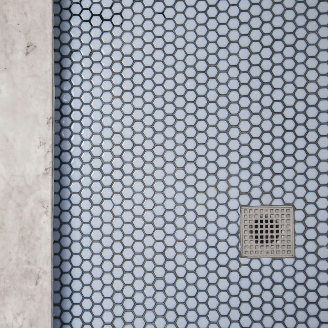 Glazed Hexagon Mosaic