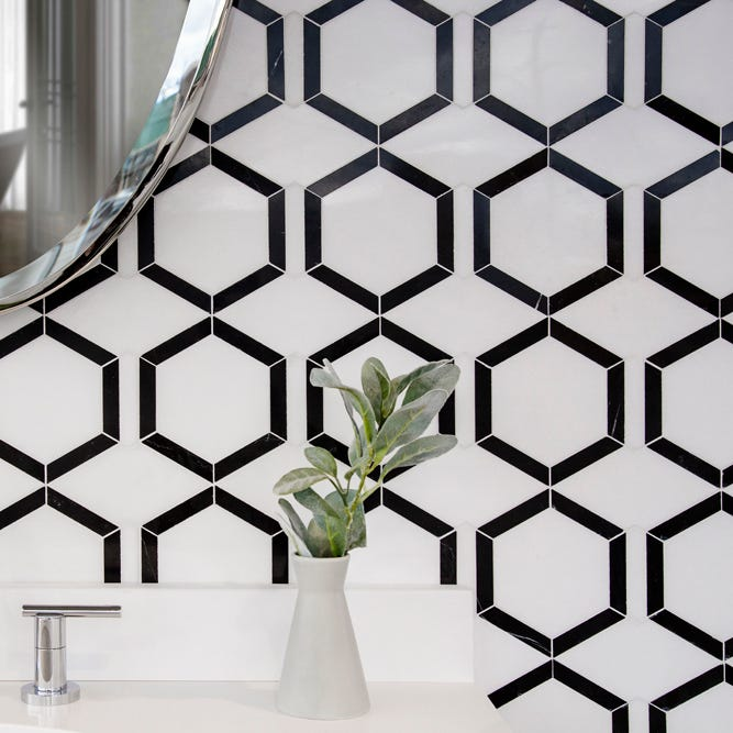 Black and White Mosaics