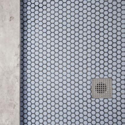 Glazed Hexagon Mosaic