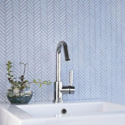 Glazed Herringbone Mosaic